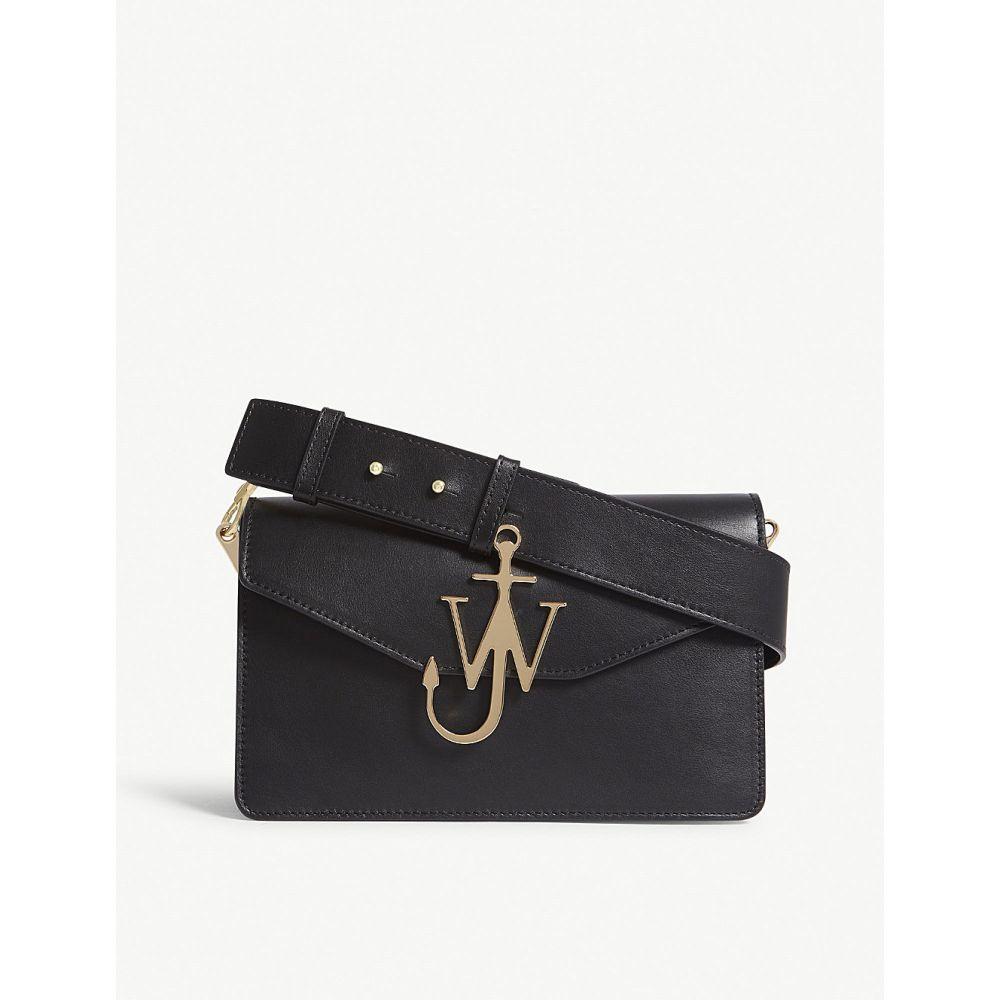 J.W.アンダーソン レディース バッグ ショルダーバッグ【logo leather shoulder bag】Black