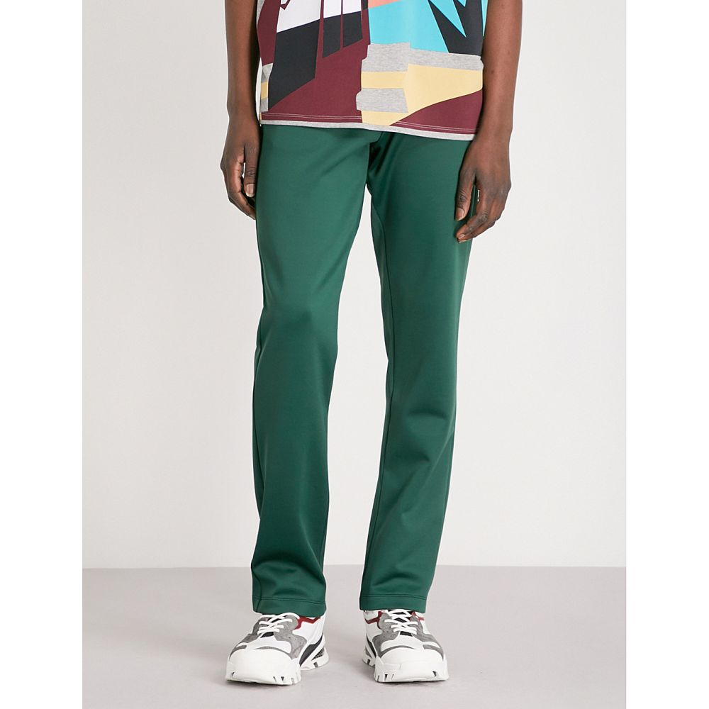 ヴァレンティノ メンズ ボトムス・パンツ【rockstud-detail relaxed-fit jersey jogging bottoms】Emerald