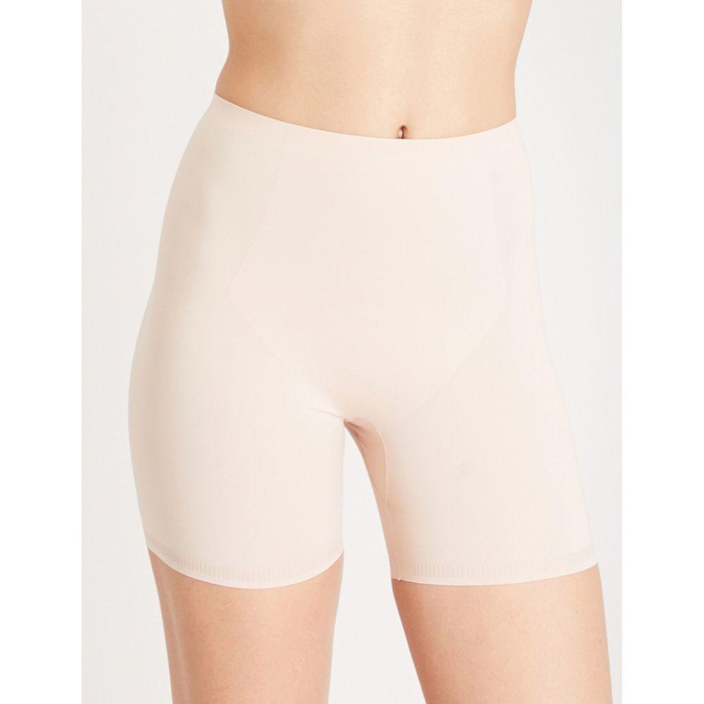スパンクス レディース インナー・下着【thinstincts mid-thigh stretch-jersey shorts】Soft nude