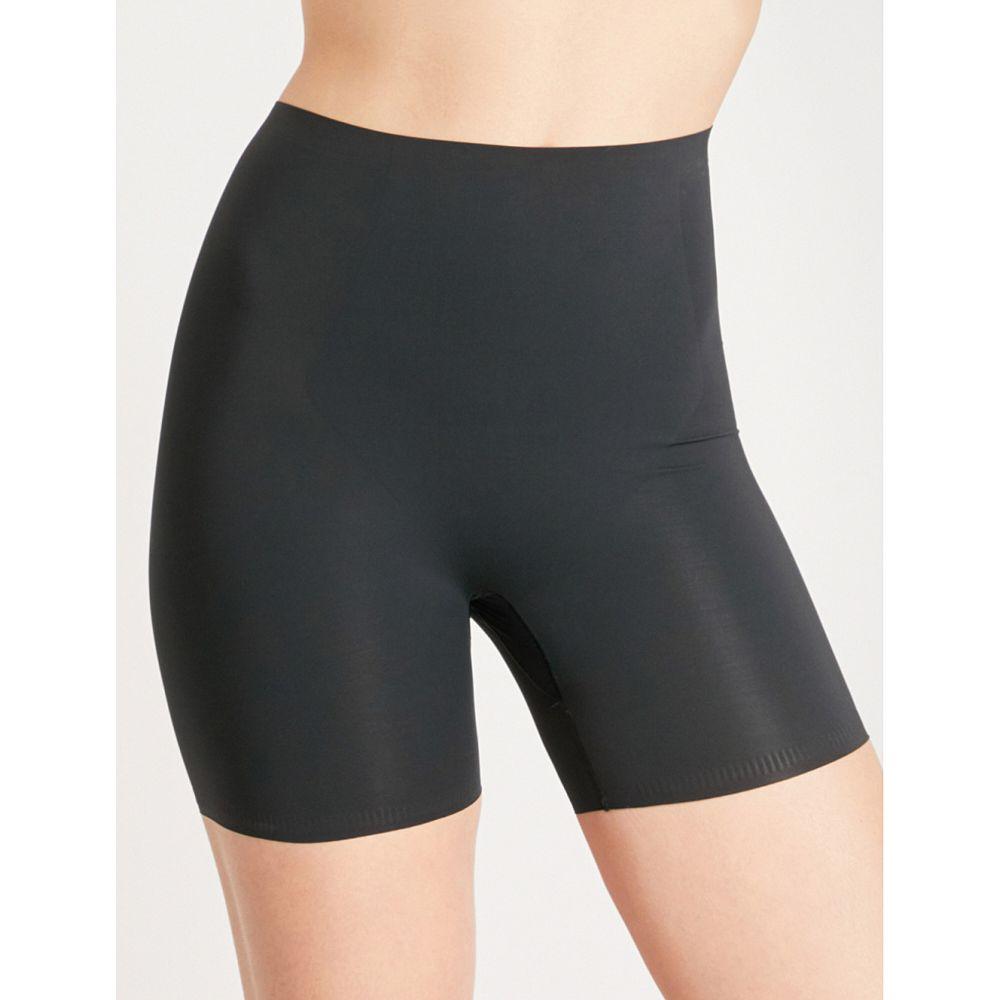スパンクス レディース インナー・下着【thinstincts mid-thigh stretch-jersey shorts】Very black