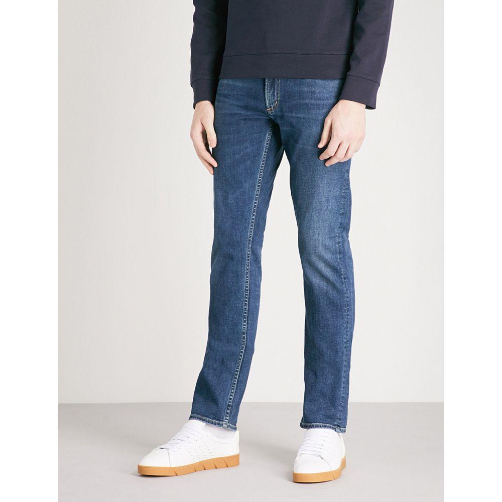 シチズン オブ ヒューマニティ メンズ ボトムス・パンツ ジーンズ・デニム【bowery slim-fit stretch-denim jeans】Riverside blue