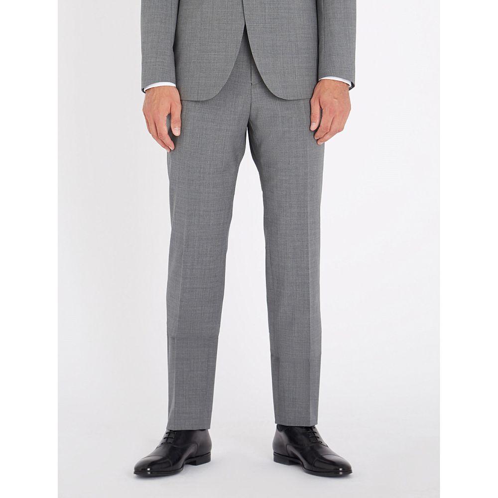リース メンズ ボトムス・パンツ スラックス【belief modern-fit wool-blend trousers】Soft grey