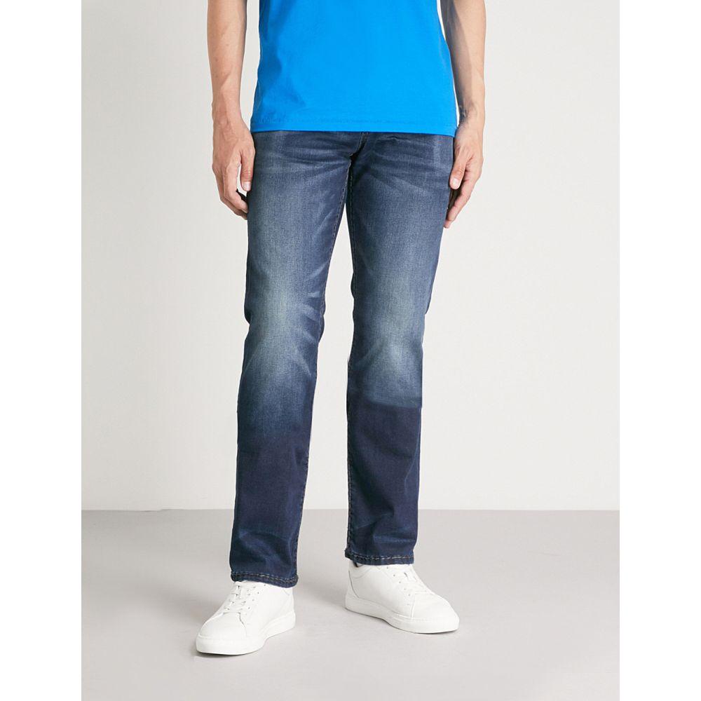 トゥルー レリジョン メンズ ボトムス・パンツ ジーンズ・デニム【ricky flap super t denim jeans】Moody blue