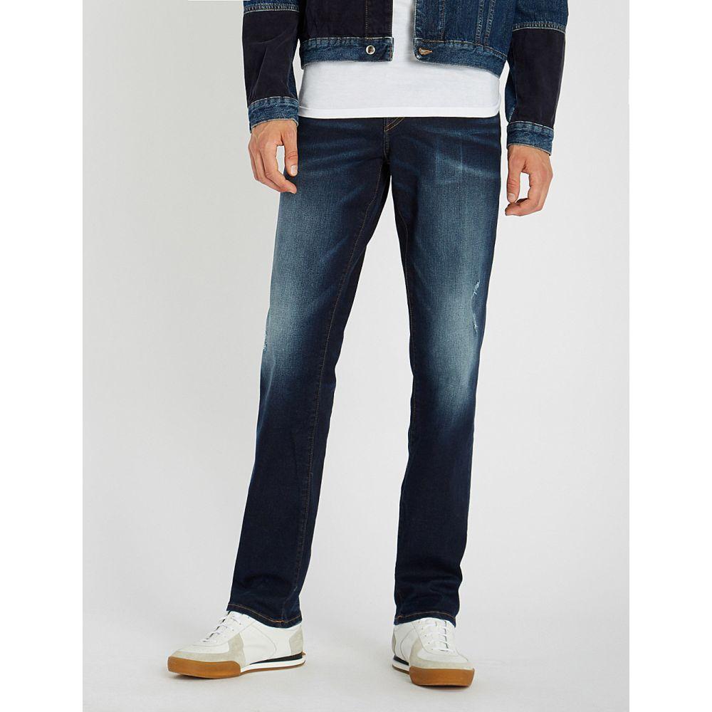 トゥルー レリジョン メンズ ボトムス・パンツ ジーンズ・デニム【geno slim-fit relaxed jeans】Fasd dark steel blue