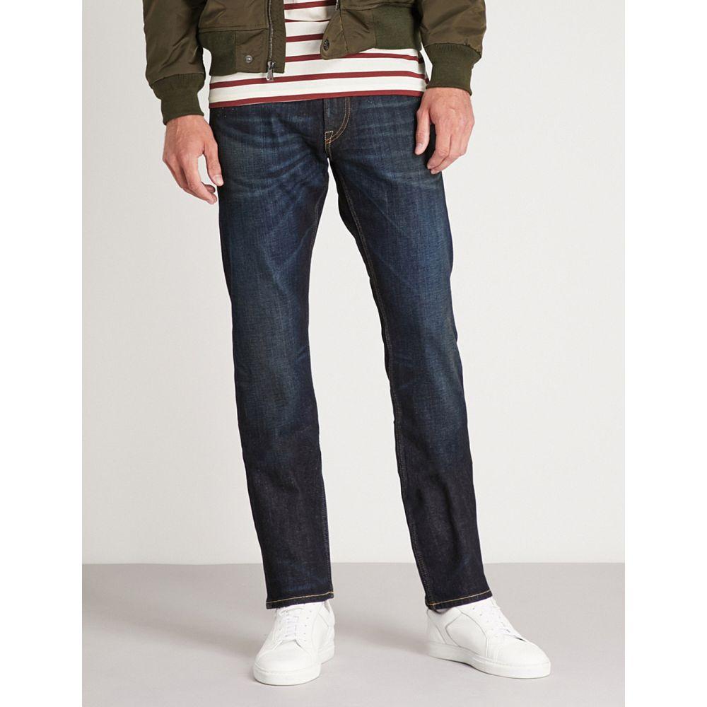 ラルフ ローレン メンズ ボトムス・パンツ ジーンズ・デニム【slim-fit straight stretch-denim jeans】Blue