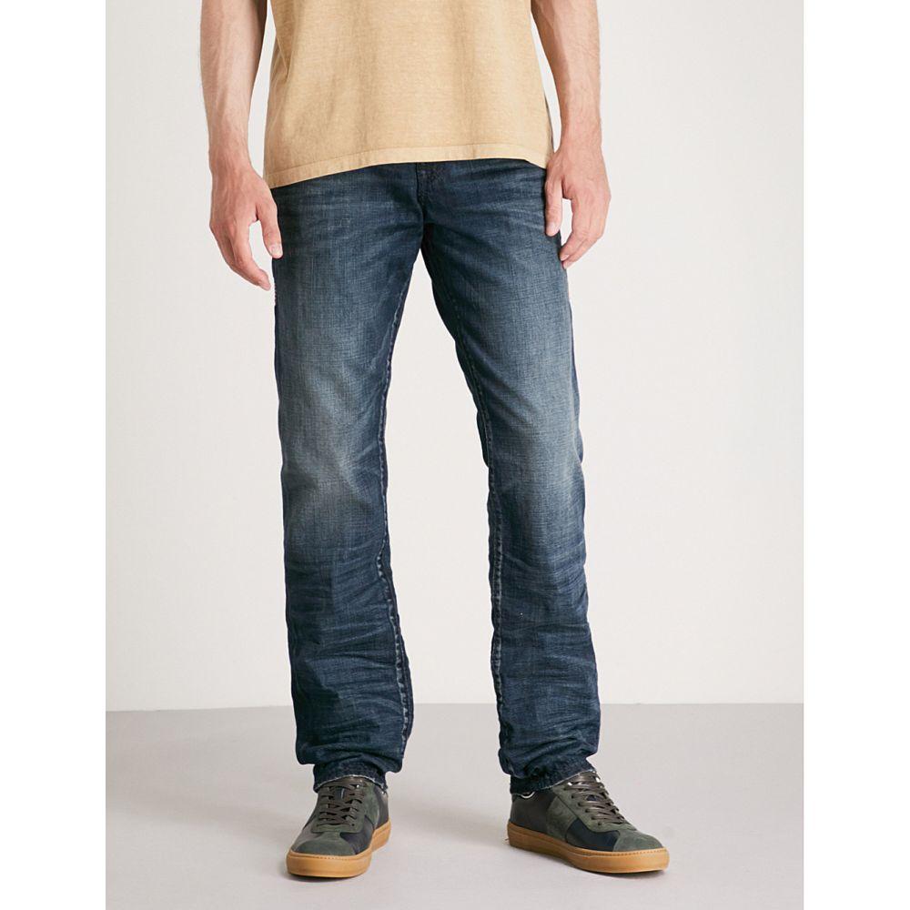 トゥルー レリジョン メンズ ボトムス・パンツ ジーンズ・デニム【geno slim-fit relaxed jeans】Eotd combat blue