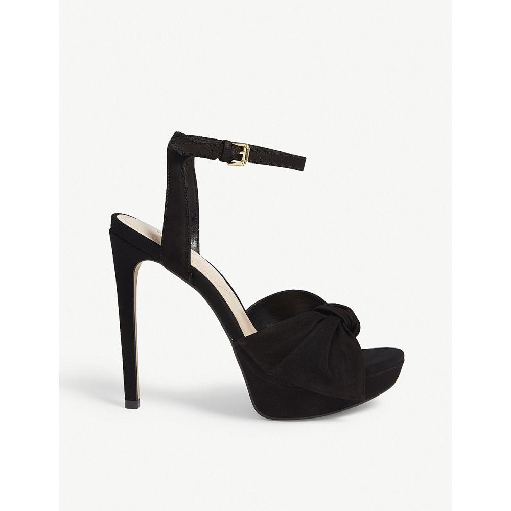 アルド レディース シューズ・靴 サンダル・ミュール【sublimity suede platform sandals】Black nubuck