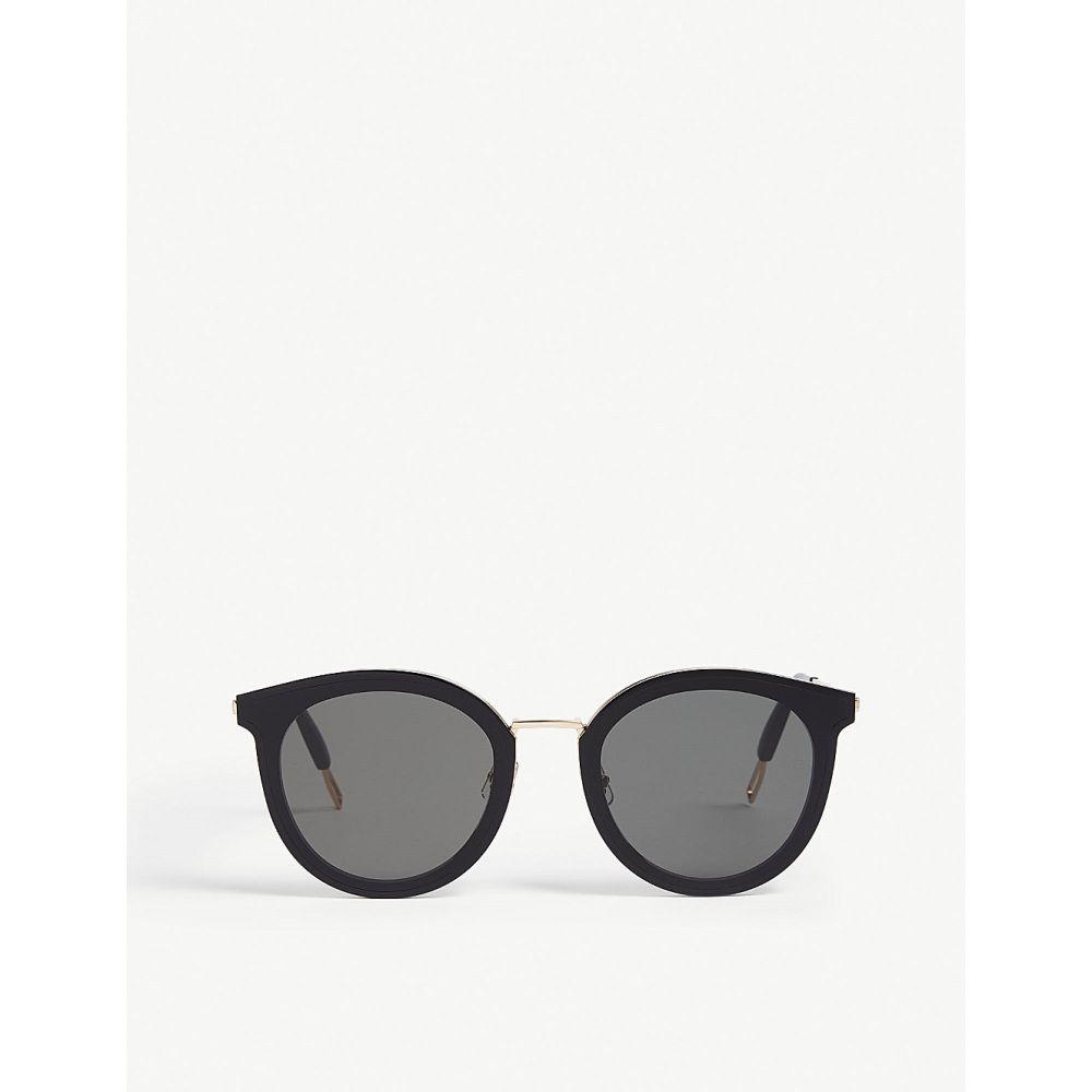 ジェントルモンスター gentle monster レディース メガネ・サングラス【merlynn wc1 tinted round-frame sunglasses】Black