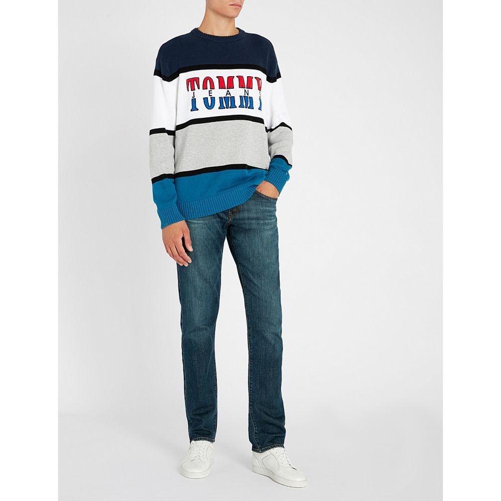 Men's Clothing Armani Jeans J28 Slim Fit Denim Men's Jeans Size 32