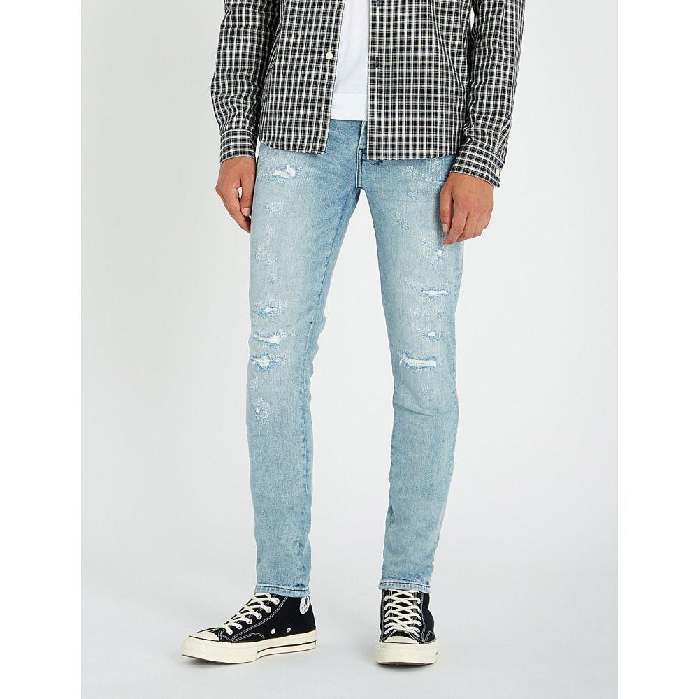 スビ ksubi メンズ ボトムス・パンツ ジーンズ・デニム【van winkle distressed slim-fit jeans】Hawker