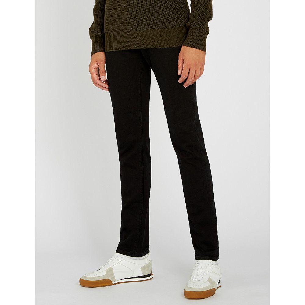 コルネリアーニ corneliani メンズ ボトムス・パンツ ジーンズ・デニム【slim-fit skinny jeans】Light black