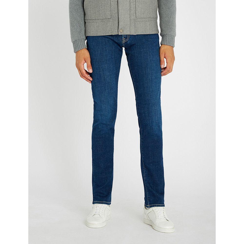 コルネリアーニ corneliani メンズ ボトムス・パンツ ジーンズ・デニム【slim-fit skinny jeans】Indigo