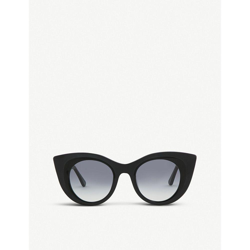 ティエリー ラスリー thierry lasry レディース メガネ・サングラス【hedony cat eye sunglasses】Black
