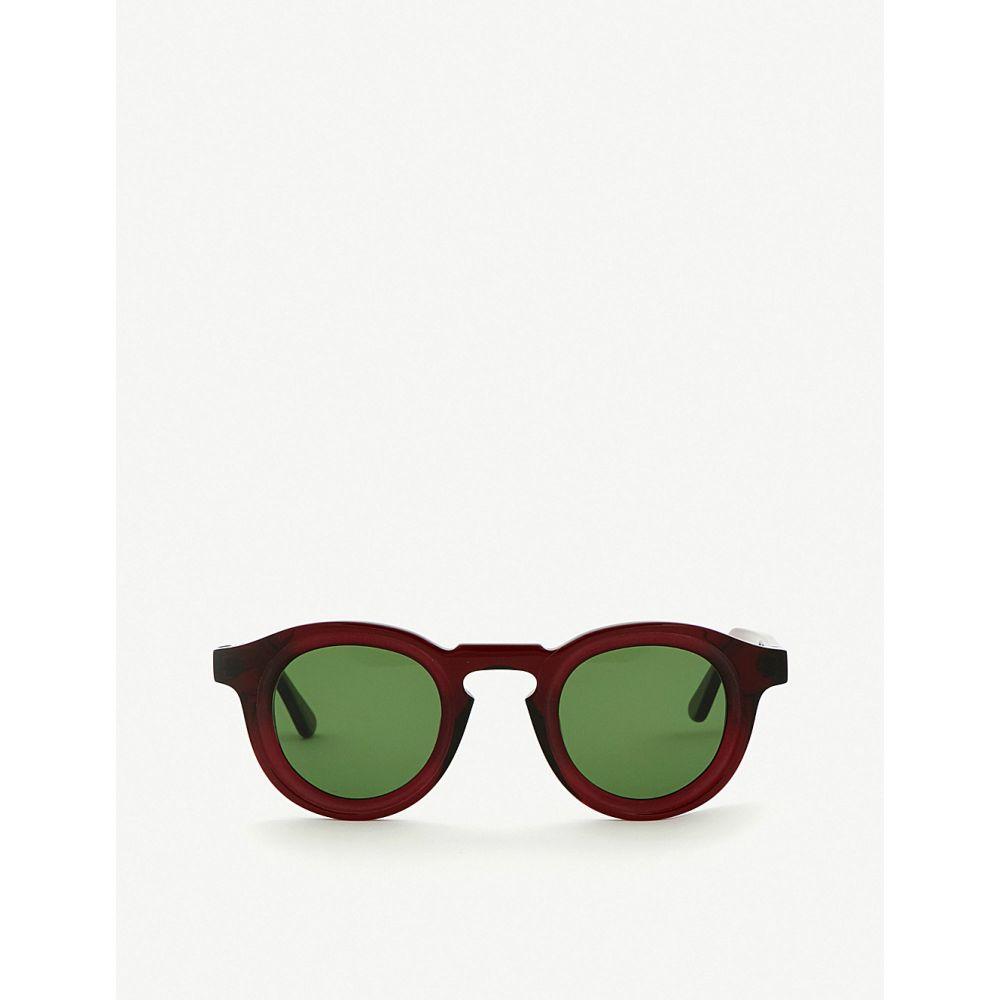 ティエリー ラスリー thierry lasry メンズ スポーツサングラス【flaky tinted sunglasses】Burgundy