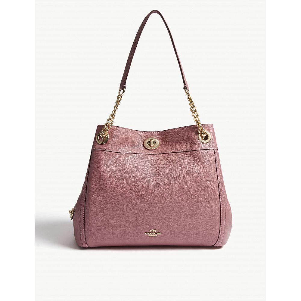 コーチ coach レディース バッグ ショルダーバッグ【edie leather shoulder bag】Li/rose