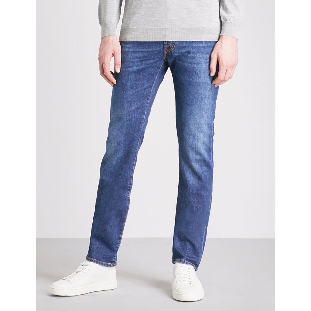 ヤコブ コーエン jacob cohen メンズ ボトムス・パンツ ジーンズ・デニム【slim-fit straight jeans】Blue