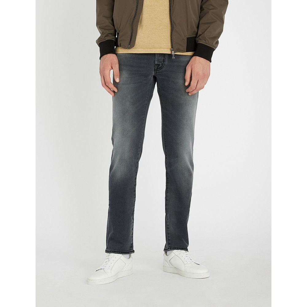 ヤコブ コーエン jacob cohen メンズ ボトムス・パンツ ジーンズ・デニム【slim-fit straight jeans】Washed black