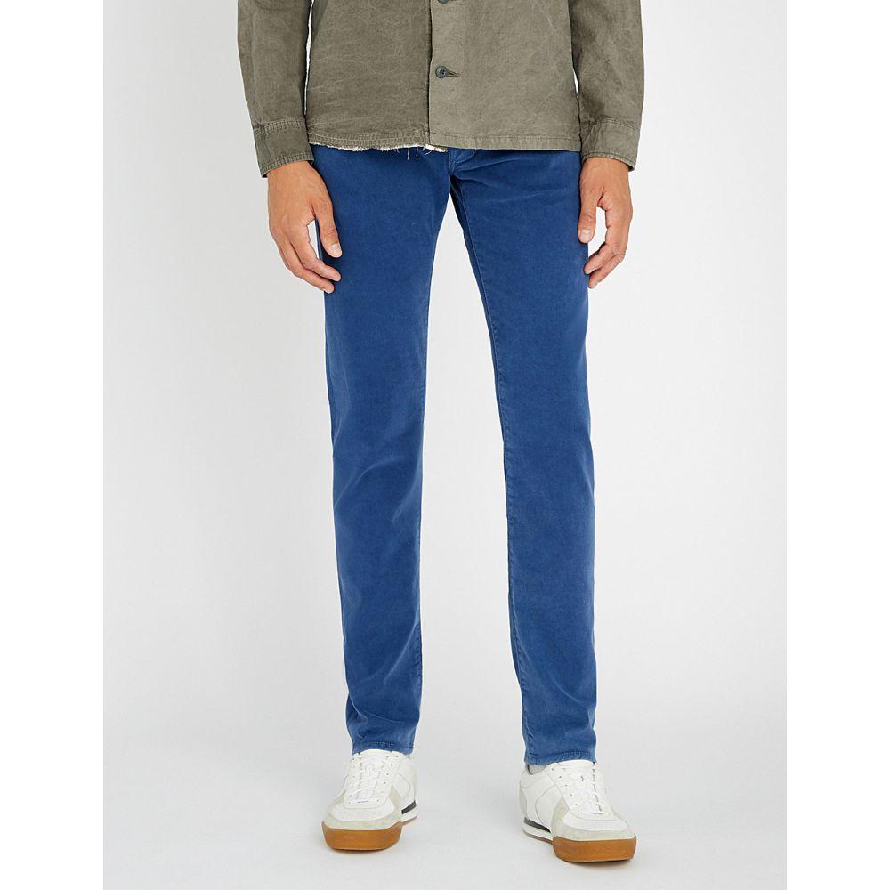 ヤコブ コーエン jacob cohen メンズ ボトムス・パンツ ジーンズ・デニム【tailored-fit tapered jeans】Navy blue