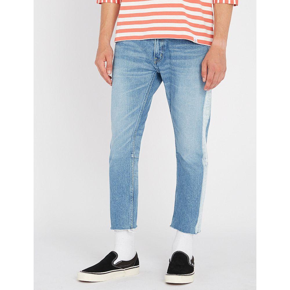 マジック スティック magic stick メンズ ボトムス・パンツ ジーンズ・デニム【side-stripe regular-fit tapered jeans】Fade blue