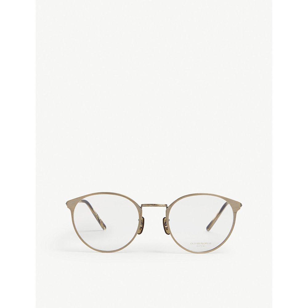 オリバーピープルズ oliver peoples レディース メガネ・サングラス【hanneli round glasses】Gold