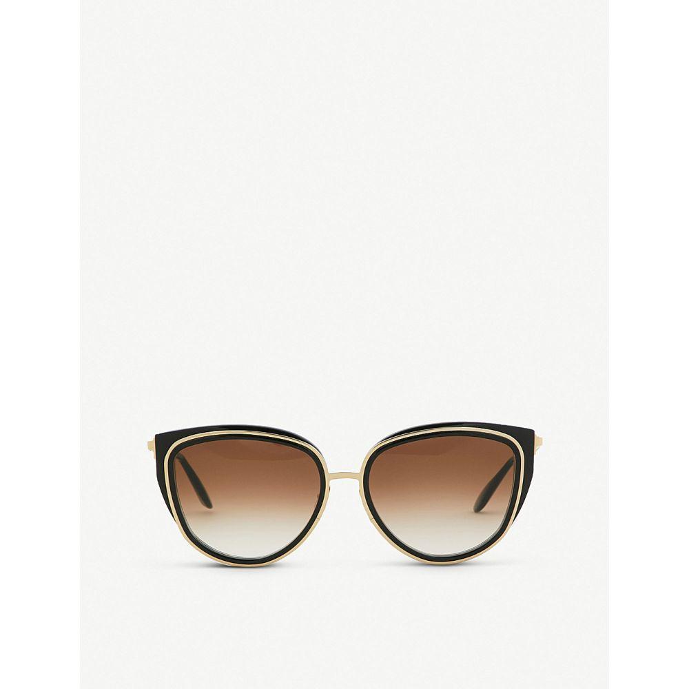 ティエリー ラスリー thierry lasry レディース メガネ・サングラス【enigmaty square-frame sunglasses】Black gold