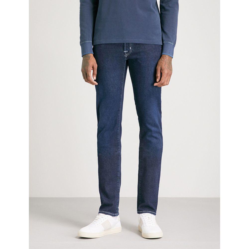 ヤコブ コーエン jacob cohen メンズ ボトムス・パンツ ジーンズ・デニム【tailored-fit straight jeans】Navy