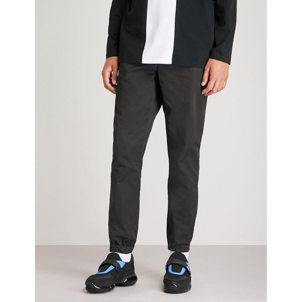 ヴェルサーチ versace versus メンズ ボトムス・パンツ【logo-tape woven trousers】Black