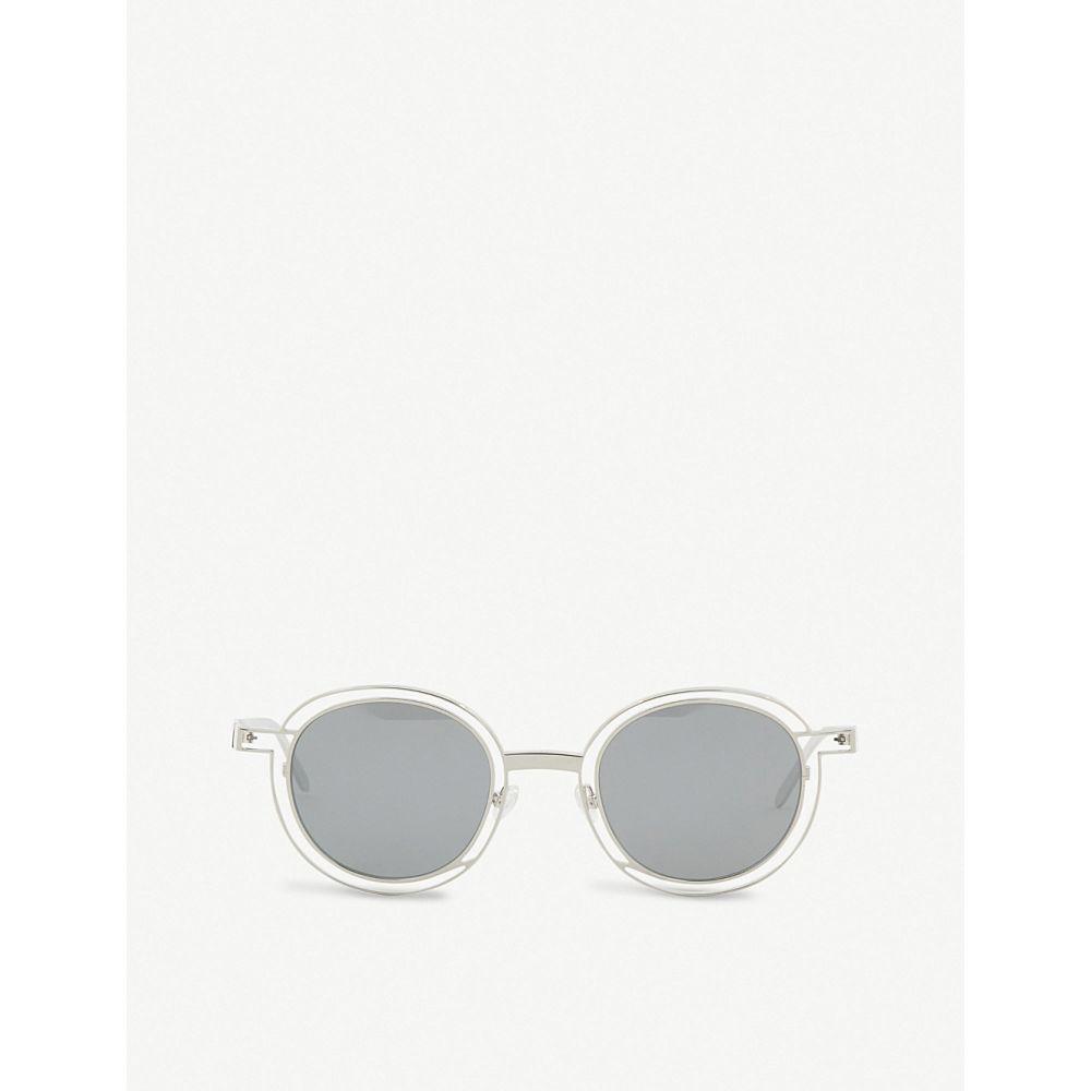 ティエリー ラスリー thierry lasry レディース メガネ・サングラス【probably round-frame sunglasses】Silver