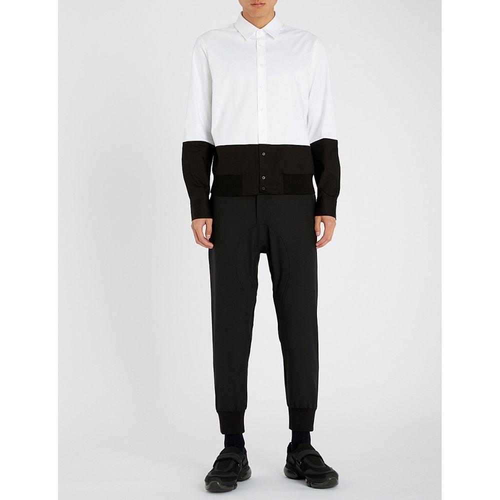 ニール バレット neil barrett メンズ ボトムス・パンツ【regular-fit woven trousers】Black