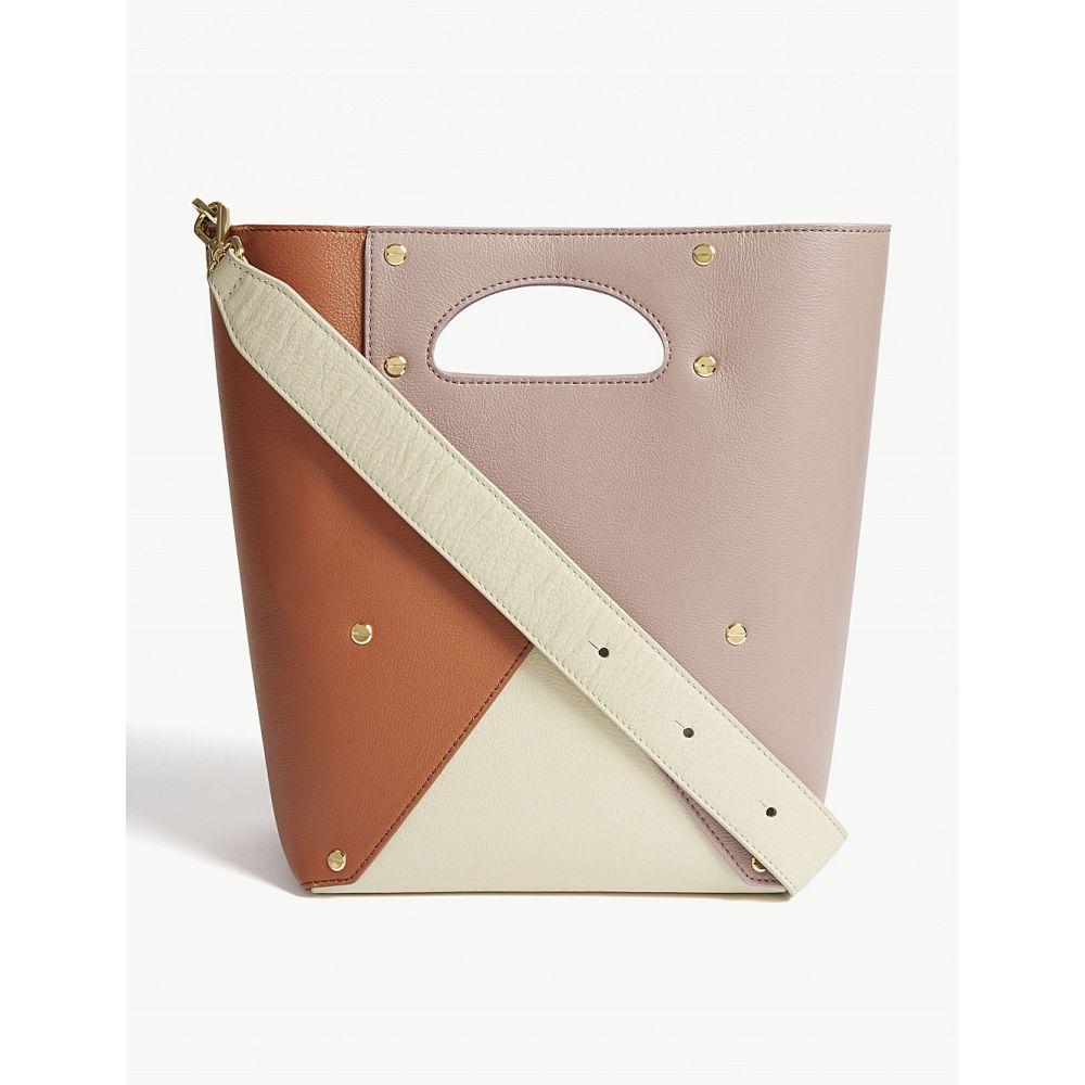 ユゼフィ yuzefi レディース バッグ トートバッグ【pablo leather tote】Brownrose/rust