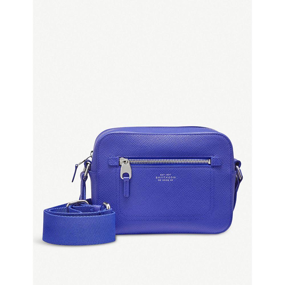 【タイムセール!】 スマイソン smythson smythson レディース バッグ【panama leather cross-grain bag】Cobalt leather crossbody camera bag】Cobalt, 調理道具の総合市場「厨房の家」:68ac02fe --- adesigndeinteriores.com.br
