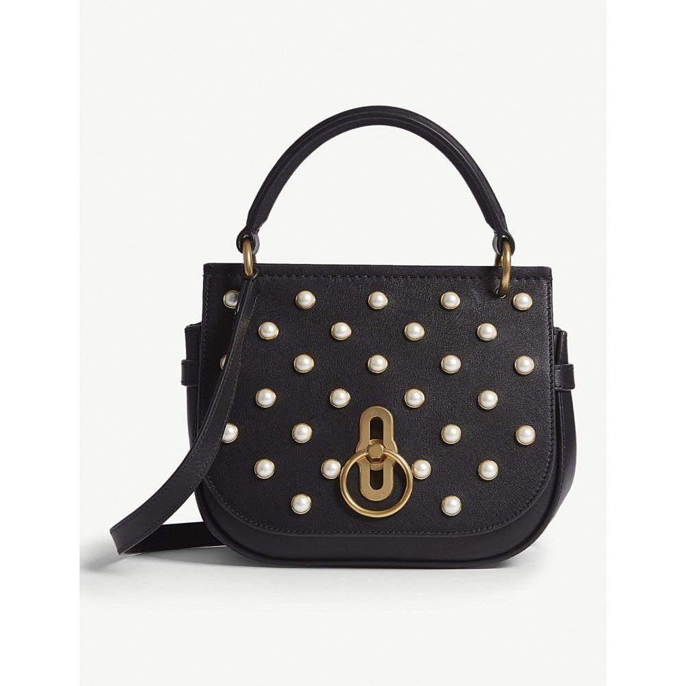 マルベリー mulberry レディース バッグ ショルダーバッグ【amberley pearl-encrusted leather cross-body bag】Black