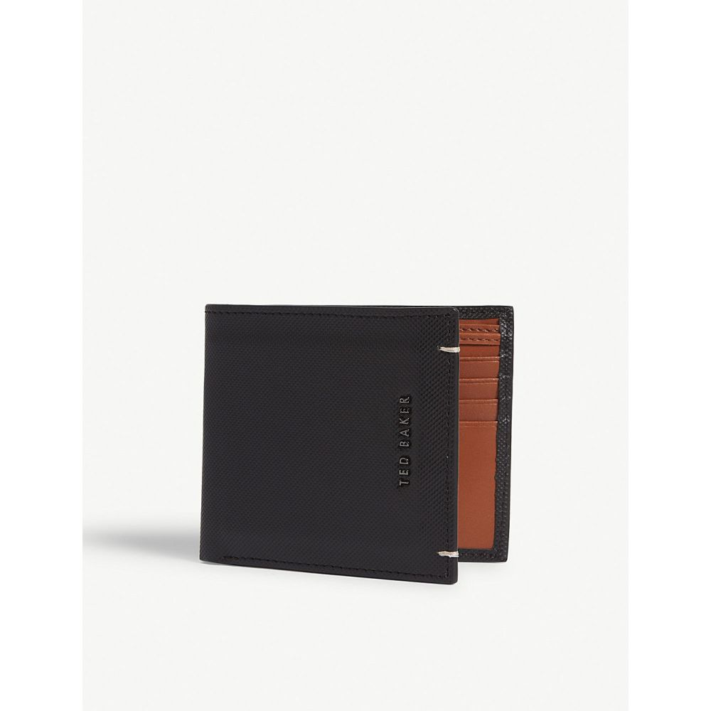 テッドベーカー ted baker メンズ 財布【stormz perforated leather wallet】Black