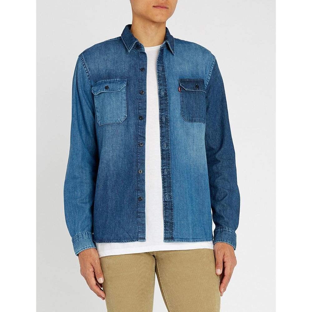 リーバイス levi's メンズ トップス シャツ【jackson worker regular-fit denim shirt】Indigo stone