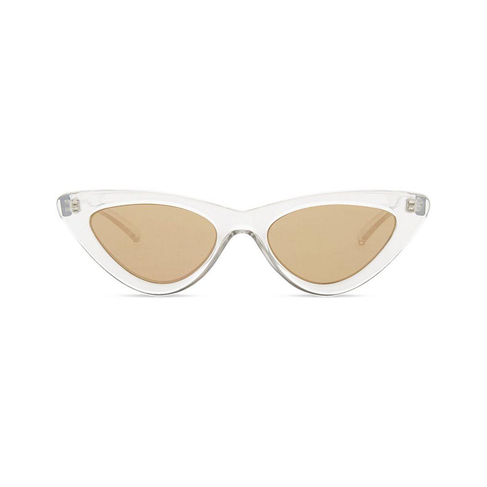 ル スペックス le specs レディース メガネ・サングラス【the last lolita cat-eye sunglasses】Crystal grey