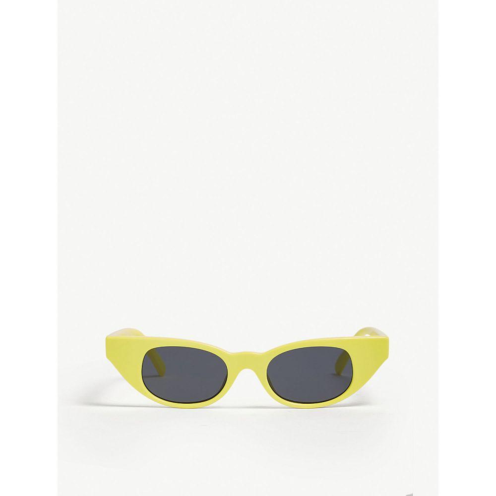 ル スペックス le specs レディース メガネ・サングラス【the breaker cat eye-frame sunglasses】Yellow