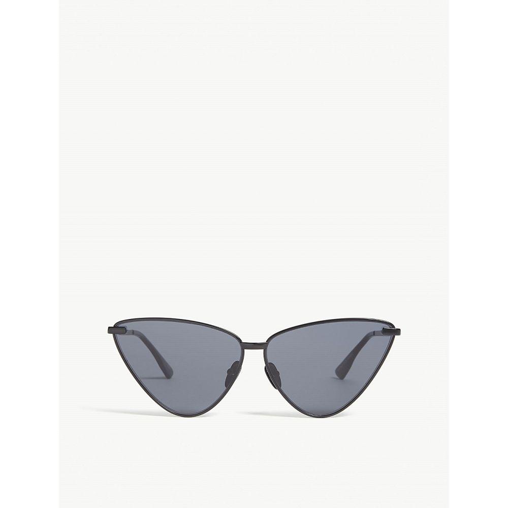 ル スペックス le specs レディース メガネ・サングラス【nero triangle-frame sunglasses】Black