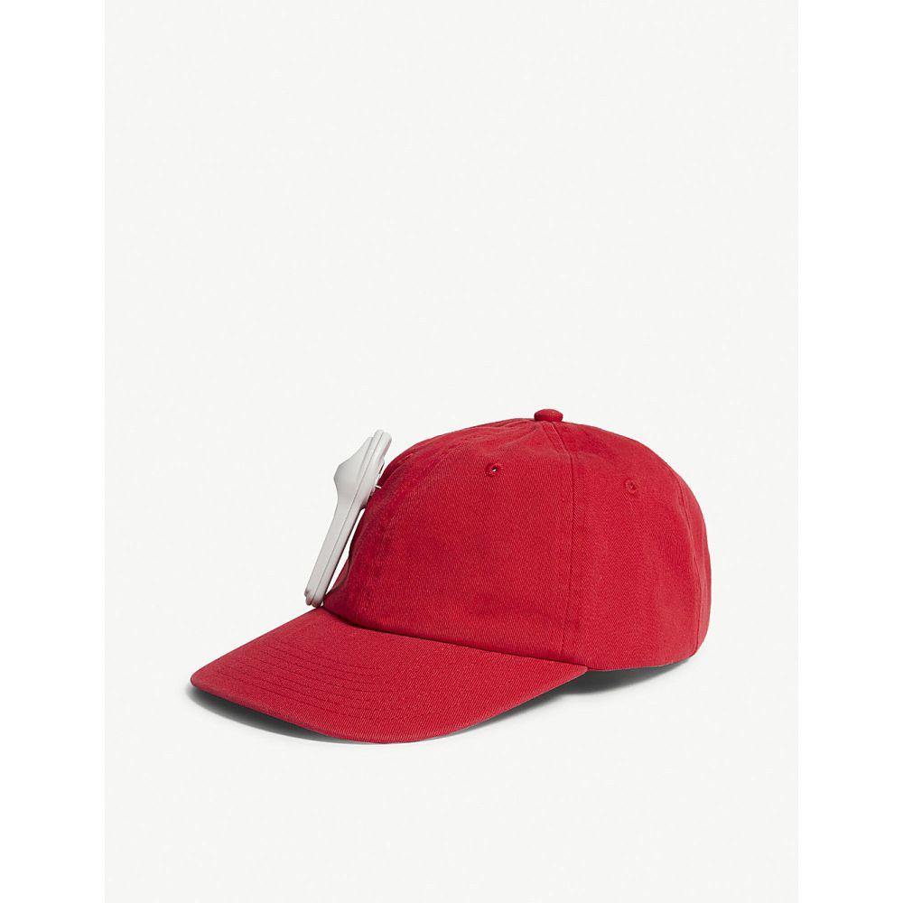 パーム エンジェルス palm angels レディース 帽子 キャップ【anti-theft cotton strapback cap】Red