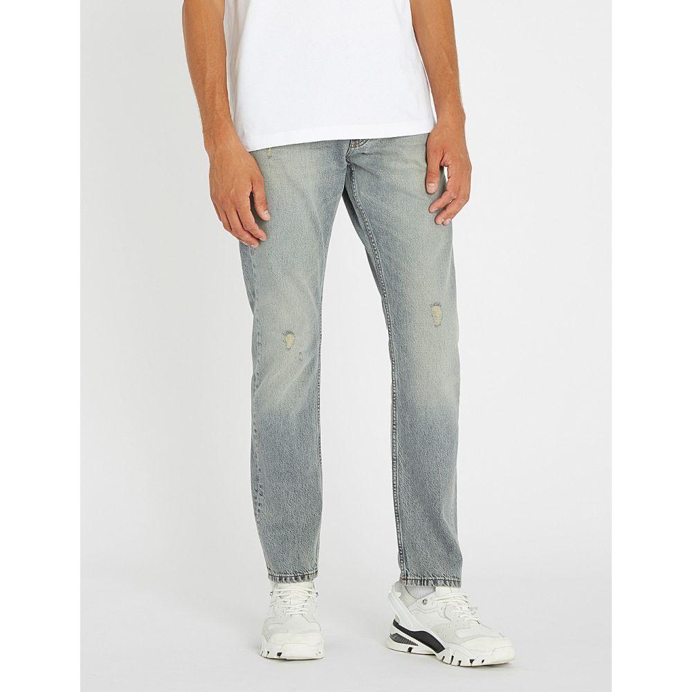 カルバンクライン ck jeans メンズ ボトムス・パンツ ジーンズ・デニム【ckj 025 slim-fit straight jeans】Navato grey distructed
