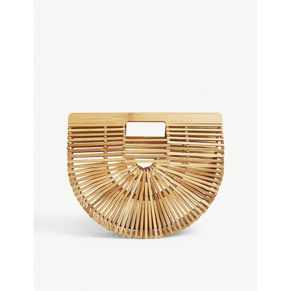 カルト ガイア gaia cult bamboo gaia レディース バッグ bag】Natural ハンドバッグ【ark small bamboo bag】Natural, ディーズステーショナリー:40b5cbad --- sunward.msk.ru