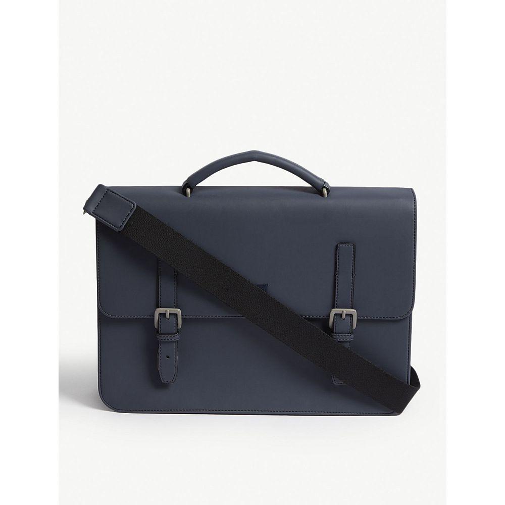 テッドベーカー ted baker メンズ バッグ ビジネスバッグ・ブリーフケース【eclips rubber satchel】Navy