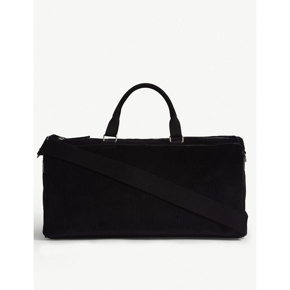 イヴ サンローラン saint laurent メンズ バッグ ボストンバッグ・ダッフルバッグ【andy corduroy duffle bag】Black