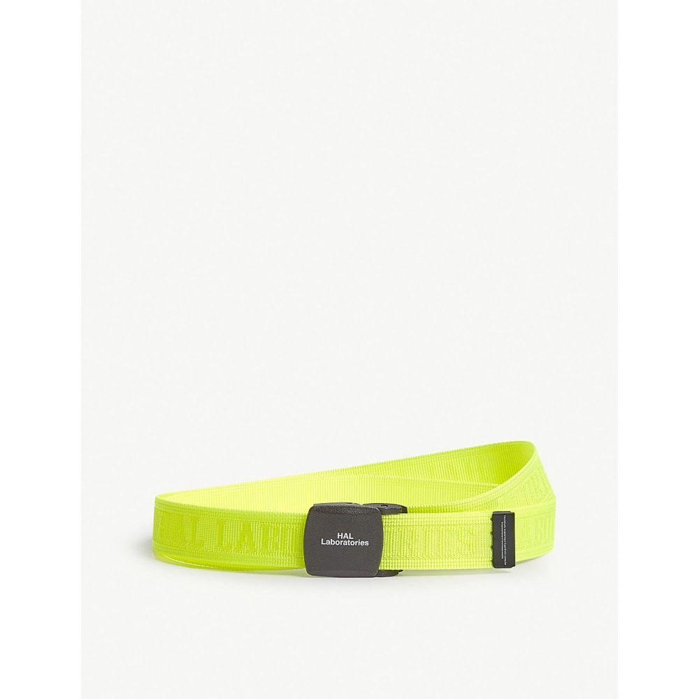 アンダーカバー undercover メンズ ベルト【hal laboratories skater belt】Yellow
