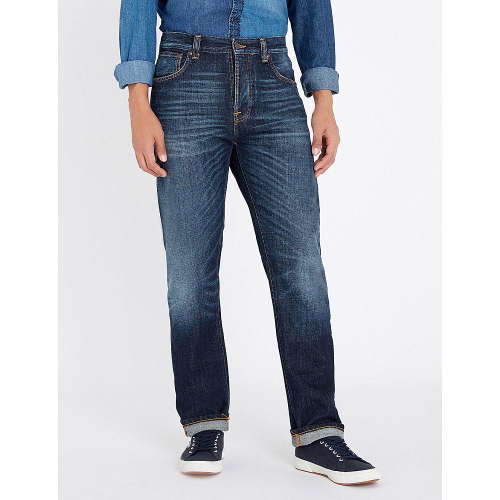 ヌーディージーンズ nudie jeans メンズ ボトムス・パンツ ジーンズ・デニム【sleepy sixten regular-fit straight jeans】Authentic dark