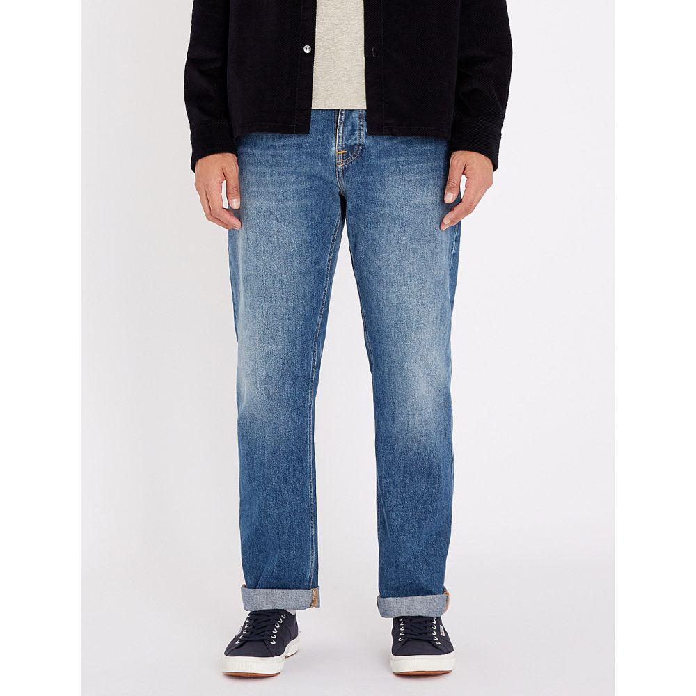 ヌーディージーンズ nudie jeans メンズ ボトムス・パンツ ジーンズ・デニム【sleepy sixten regular-fit straight jeans】Celestial orange
