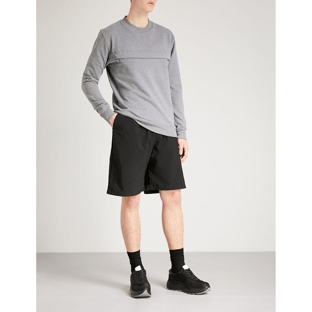 ブラッドブラザー blood brother メンズ ボトムス・パンツ ショートパンツ【weave shell shorts】Black