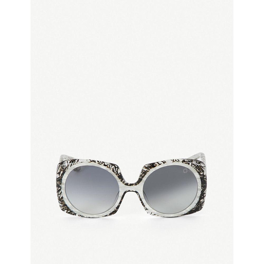ブレイク クワハラ blake kuwahara レディース メガネ・サングラス【botta acetate sunglasses】Grey light