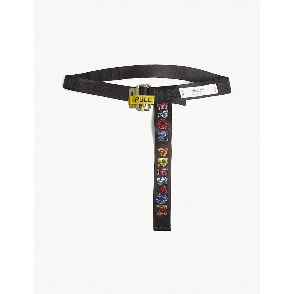 ヘロン プレストン heron preston レディース ベルト【tape belt】Blk multi