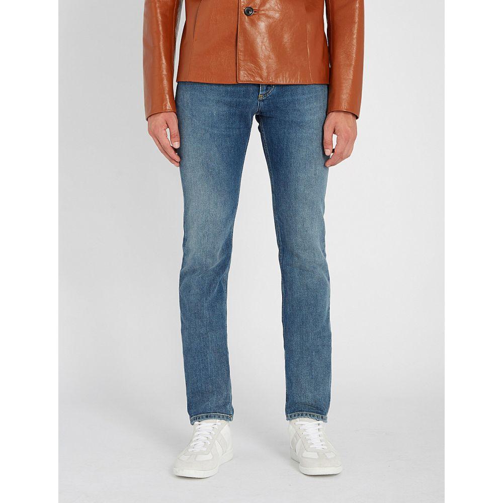 メゾン マルジェラ maison margiela メンズ ボトムス・パンツ ジーンズ・デニム【clear yoke regular-fit straight jeans】Blue