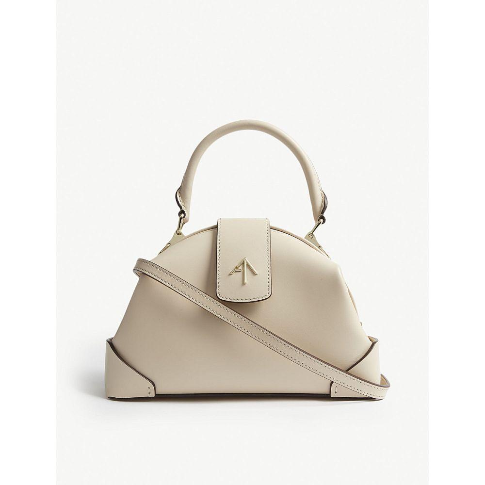 マニュ アトリエ manu atelier レディース バッグ ハンドバッグ【demi suede handbag】Light beige